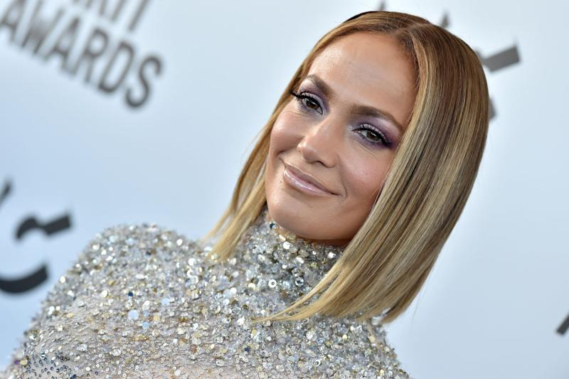 Jennifer Lopez has shared an impressive bikini selfie (Getty)