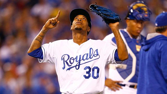 Yordano Ventura's mother will throw out the first pitch after the Royals honor the late pitcher in a pre-game ceremony.