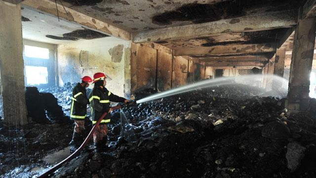 A Girl Named 'Lovely' Demands Change After Factory Fire Kills 112