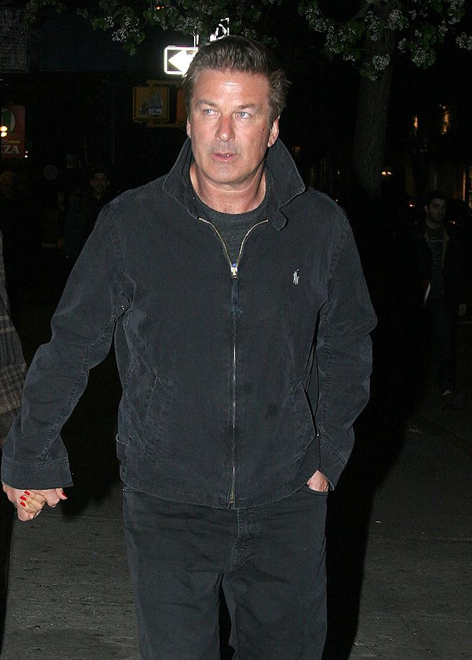 "Alec Baldwin is a talented actor, and one of ""SNL's"" funniest guest hosts, but he's not always making people laugh. In 2007, the ""30 Rock"" star's bad temper was revealed after an audio tape of Baldwin going off on his then-11-year-old daughter Ireland was leaked during the custody battle with his ex-wife Kim Basinger. When his daughter failed to return his phone call, he left her a scathing voicemail message: ""You are a rude, thoughtless little pig. I made an a** out of myself trying to make this call … You have insulted me for the last time. You don't have the brains or decency as a human being!"" Ouch. But Baldwin's rants aren't just reserved for family. Since then, he's also unleashed his fury on several people (and companies) via Twitter. In December 2011, he was kicked off an American Airlines flight for refusing to turn off his cell phone while playing Words With Friends. An irate Baldwin retaliated against the airline by posting several mean-spirited tweets like this one: ""Last flight w American. Where retired Catholic school gym teachers from the 1950's find jobs as flight attendants."" Most recently, the hot-headed star faced off with two photographers in NYC – one who claimed that Baldwin punched him. Let's hope he uses a different approach if and when any marital disagreements arise with his new wife, Hilaria."