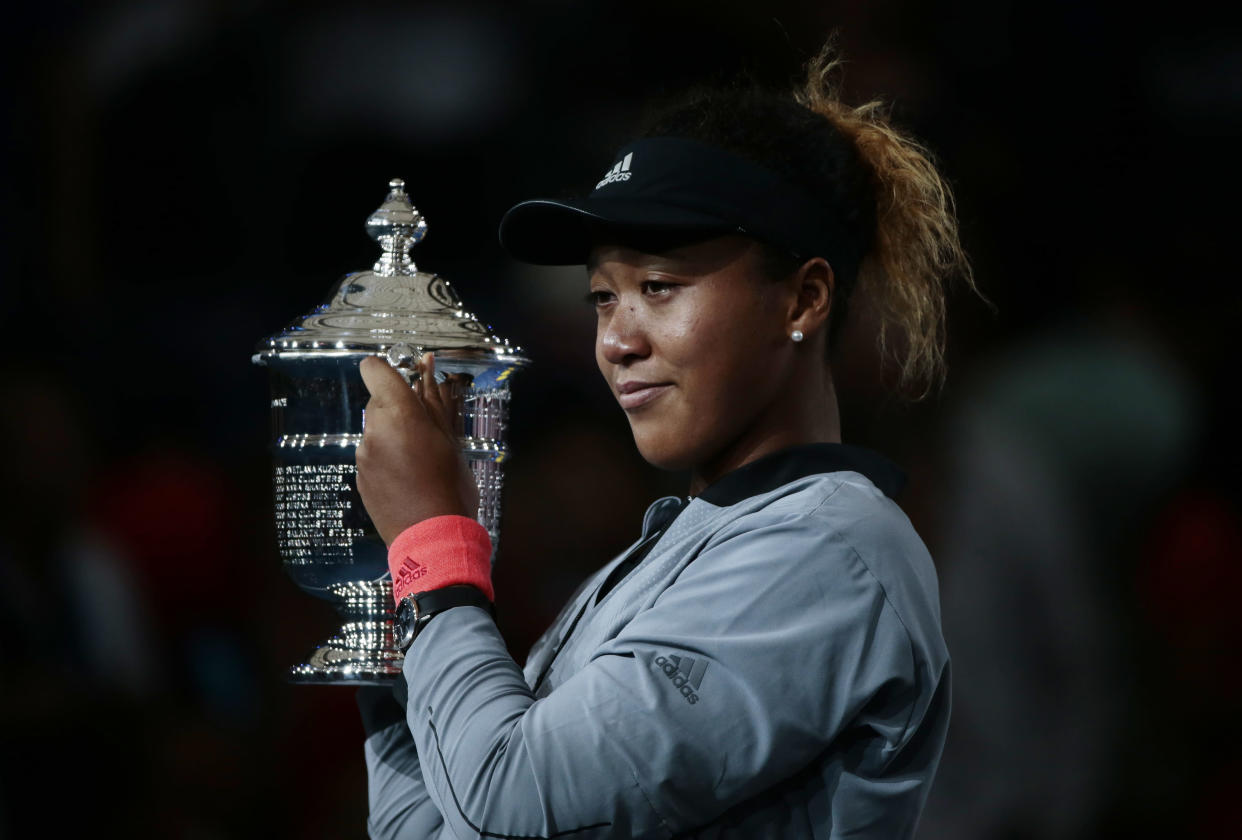 Naomi Osaka has reportedly agreed to an endorsement deal with Adidas that will be the richest in women's tennis. (AP)