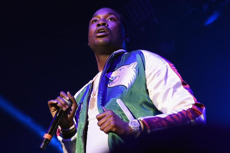 Meek Mill collabs with Boogie Wit Da Hoodie and Ed Sheeran on song 1000 Nights. (Getty)