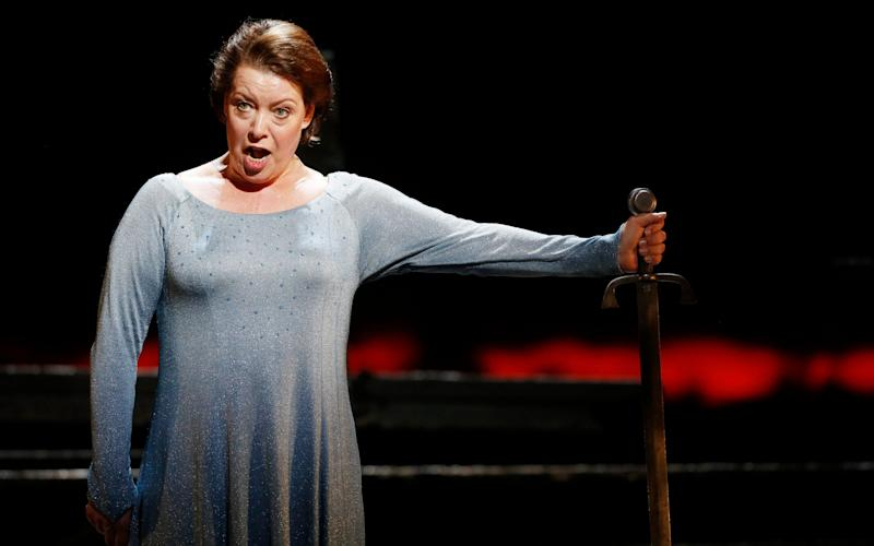 Nina Stemme sings the role of the Dyer's Wife - AFP/Getty