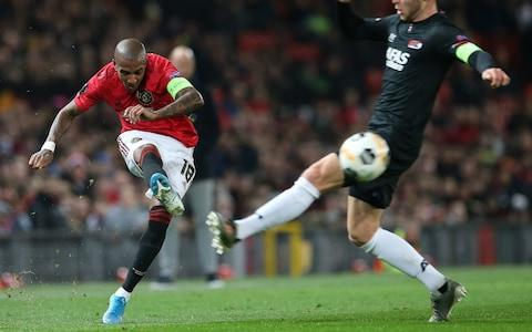 Ashley Young in action - Credit: Manchester United
