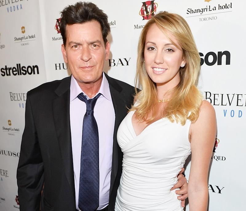 Charlie sheen who is he dating