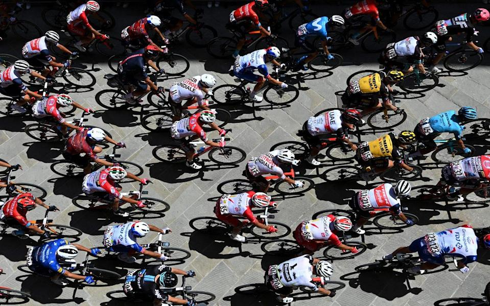 The peloton rolls out -Giro d'Italia 2021, stage 12 – live updates - GETTY IMAGES
