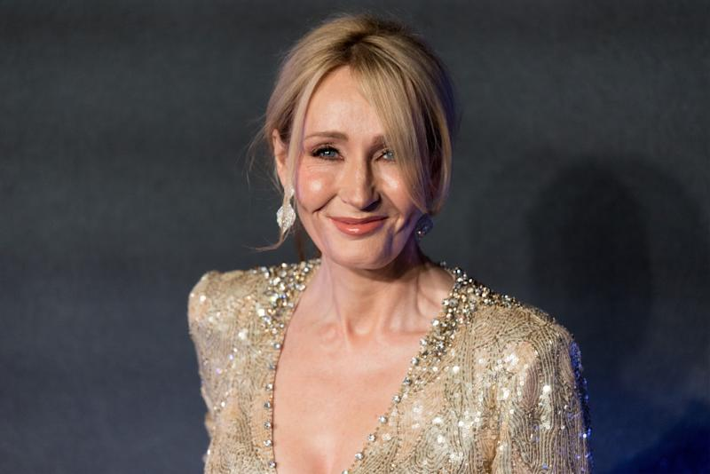 J.K. Rowling Confessed To Writing A Secret Manuscript On A Party Dress