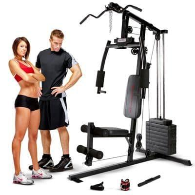 Marcy Club MKM-1101 home multi-gym 54kg stack