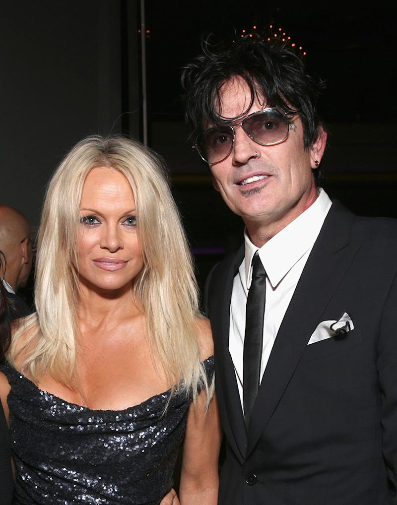 Pam and tommylee video