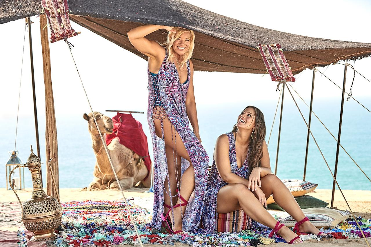 Mother-Daughter Bikini Shoot: Ashley Graham and  Mother,Linda in Swimsuits