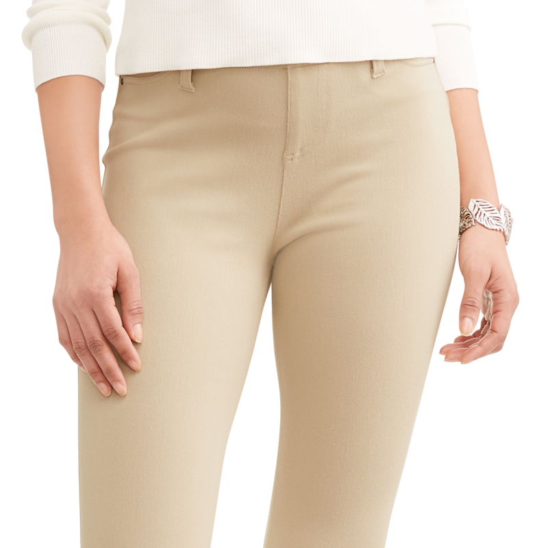 Time and Tru Women's Full Length Soft Knit Color Jegging (Photo: Walmart)