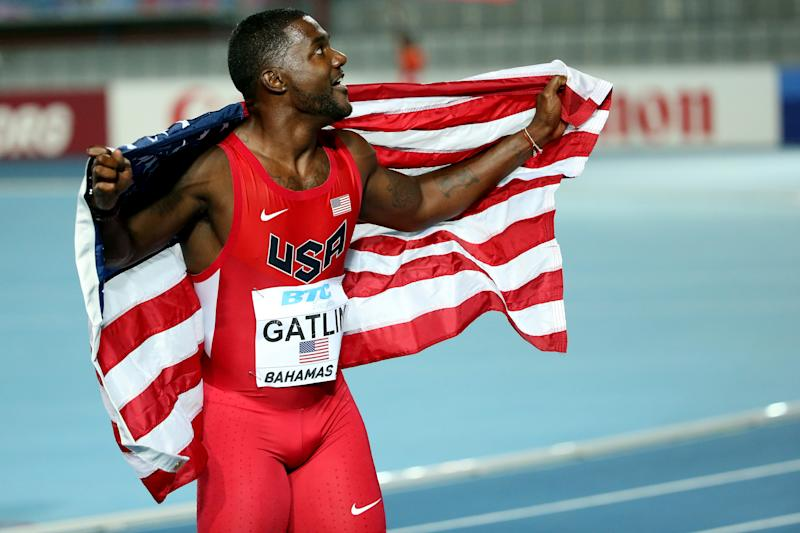 Athletics - Evergreen Gatlin set to shine in Bolt's absence