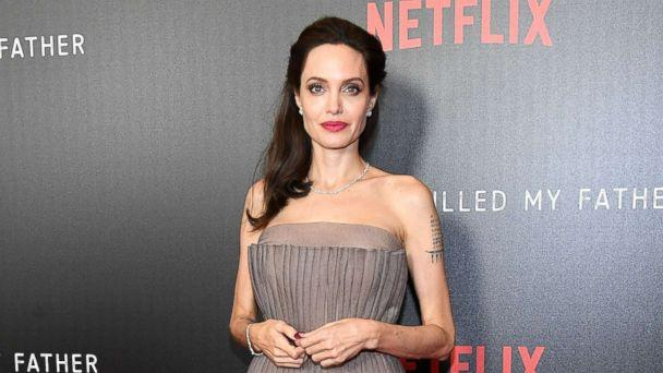 PHOTO: Angelina Jolie attends the 'First They Killed My Father' New York premiere at DGA Theater, Sept. 14, 2017, in New York.   (Dia Dipasupil/Getty Images)