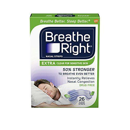 """<p><strong>Breathe Right</strong></p><p>amazon.com</p><p><strong>$10.49</strong></p><p><a href=""""http://www.amazon.com/dp/B00DM9D0ZI/?tag=syn-yahoo-20&ascsubtag=%5Bartid%7C10070.g.35058481%5Bsrc%7Cyahoo-us"""" rel=""""nofollow noopener"""" target=""""_blank"""" data-ylk=""""slk:Shop Now"""" class=""""link rapid-noclick-resp"""">Shop Now</a></p><p>If you're a chronic snorer, you may find yourself frequently waking up with inflamed sinuses ... as well as a grumpy bed partner. For everybody's sake, try using these simple, drug-free nasal strips to help you breathe easier while you sleep. These strips also work well if you're congested due to allergies or a cold.</p>"""