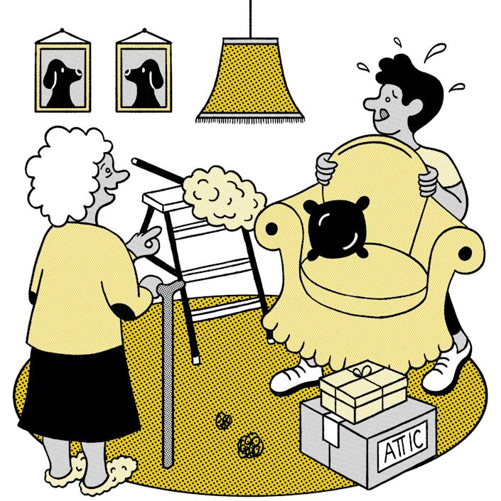 During quarantine, medical, financial and household issues may have cropped up. Preparing before your visit can ease tensions and get to what you really want -- a joyful visit. (Melanie Lambrick/The New York Times)