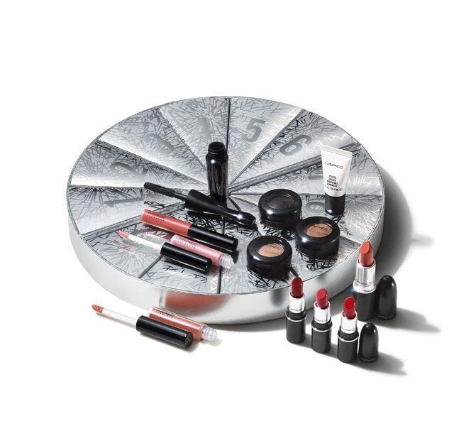 """<p><strong>MAC Cosmetics</strong></p><p>maccosmetics.com</p><p><strong>$99.00</strong></p><p><a href=""""https://go.redirectingat.com?id=74968X1596630&url=https%3A%2F%2Fwww.maccosmetics.com%2Fproduct%2F13851%2F82721%2Fproducts%2Fmakeup%2Flips%2Flip-palettes-kits%2Fboom-boom-wow-mini-advent-calendar-163-value&sref=https%3A%2F%2Fwww.harpersbazaar.com%2Fbeauty%2Fg33667621%2Fbest-beauty-advent-calendars%2F"""" rel=""""nofollow noopener"""" target=""""_blank"""" data-ylk=""""slk:Shop Now"""" class=""""link rapid-noclick-resp"""">Shop Now</a></p><p>Here's the only excuse you need to stock up on MAC lip colors. Seven of the 12 products included in this calendar are either lipstick or Lipglass, with eyeshadow, mascara, and Strobe Cream rounding out the rest.</p>"""