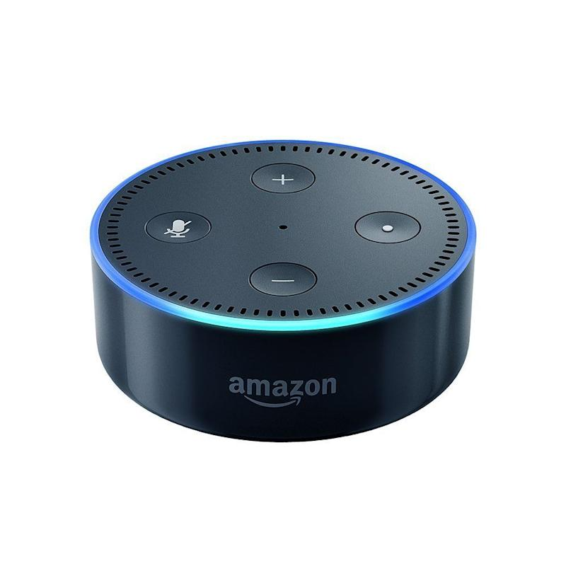 "Regularly: $49.99<br /><strong><a href=""https://www.amazon.com/Amazon-Echo-Dot-Portable-Bluetooth-Speaker-with-Alexa-Black/dp/B01DFKC2SO/ref=sr_1_2?ie=UTF8&qid=1510870054&sr=8-2&keywords=echo"" target=""_blank"">Sale Price: $29.99</a></strong>"