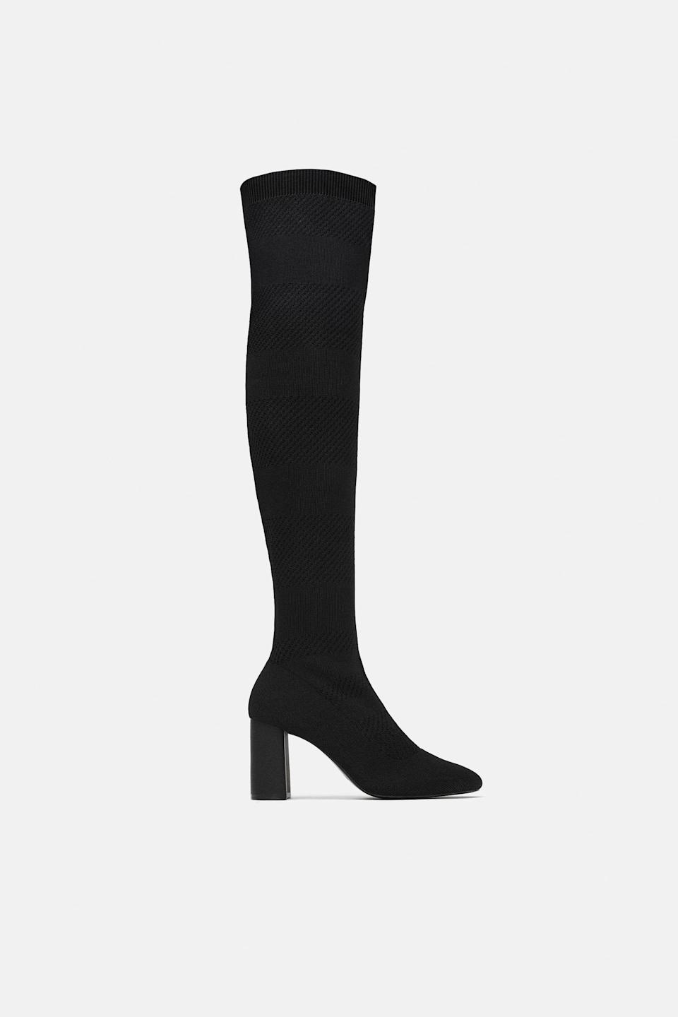 Affordable thigh-high boots I can get behind.