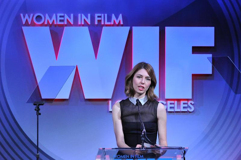 Director Sofia Coppola attends the Women in Film's 2013 Crystal + Lucy Awards at The Beverly Hilton Hotel on Wednesday, June 12, 2013 in Beverly Hills, Calif. (Photo by Vince Bucci/Invision/AP)