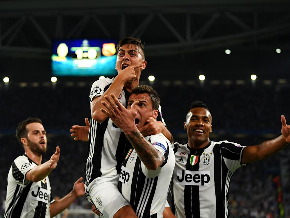 Dybala set Juventus on the path to victory with two superb first-half goals: Getty