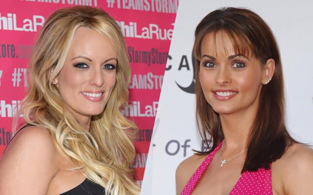 Stormy Daniels, Karen McDougal. (Photos: Tara Ziemba/Getty Images, Jon Kopaloff/FilmMagic/Getty Images)