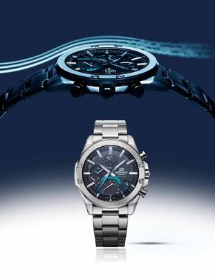 New Casio EDIFICE EQB1000D-1A boasts compact design, sapphire crystal, Tough Solar technology and Bluetooth connectivity