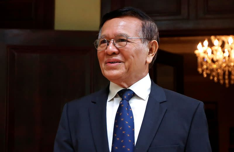 Cambodian opposition leader to face trial