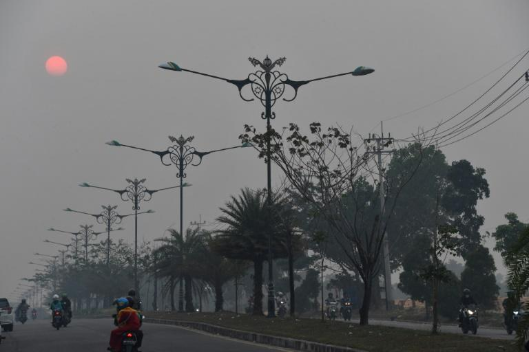 Air quality has reached dangerous levels in the worst-hit areas of Indonesia