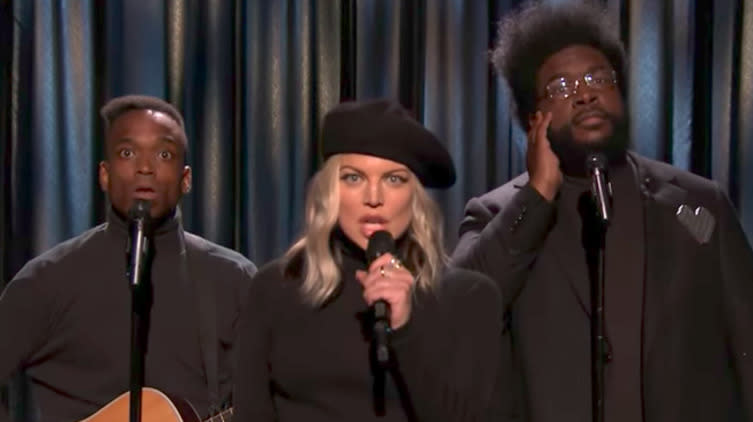 Fergie Helps Black Simon & Garfunkel Folk-ify 'My Humps'
