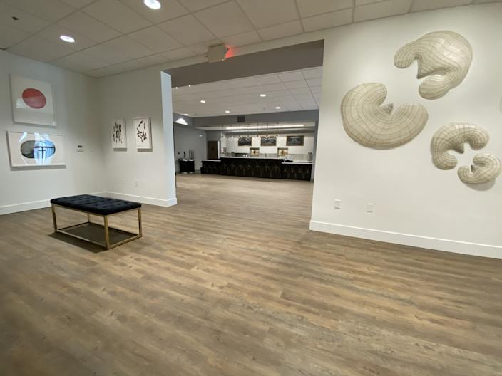 """A gallery within the Center for the Arts in Grass Valley. <span class=""""copyright"""">(Melissa Clark)</span>"""