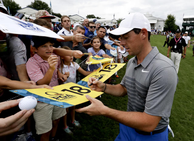 Will Rory McIlroy win at Quail Hollow this week? (AP)