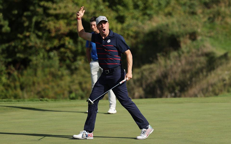 Europe's slow start 'curse' strikes yet again as dominant USA seize control of Ryder Cup on day one - GETTY IMAGES