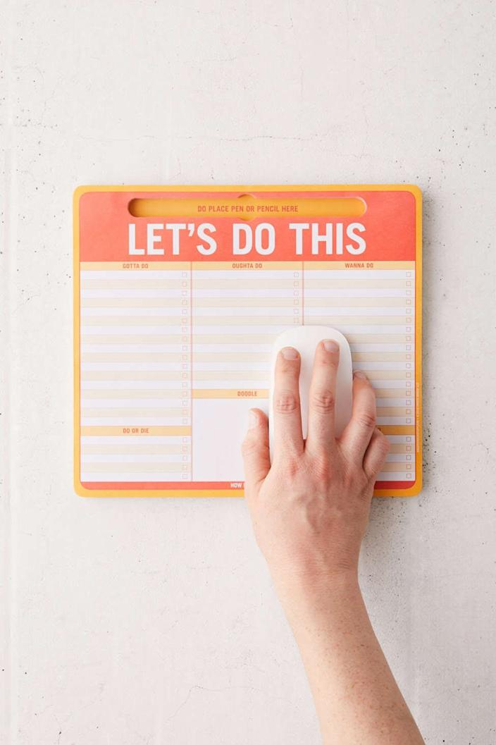 Pen to Paper mousepad from Urban Outfitters