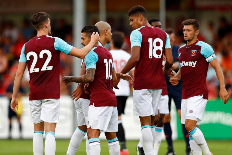 West Ham 2 Fulham 1: Manuel Lanzini and Ashley Fletcher goals claim bragging rights in Austria friendly