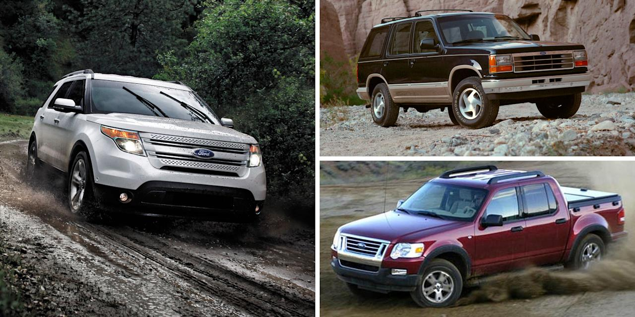 "<p>Place <a rel=""nofollow"" href=""https://www.caranddriver.com/ford/explorer"">Ford's Explorer</a> up there with Jeep's Grand Cherokee for helping to start the modern SUV craze in the early 1990s. Essentially station wagons but with four-wheel drive and far less stigma-remember, in the early '90s, wagons were about as cool as minivans are today-sport-utility vehicles like the Explorer captured the American public's imagination and have refused to let go even today. With Ford having just unveiled <a rel=""nofollow"" href=""https://www.caranddriver.com/news/a25834714/2020-ford-explorer-suv-photos-info/"">its latest Explorer</a>, it's the perfect opportunity to look back through the best-selling model's history, from 1990 to today.</p>"
