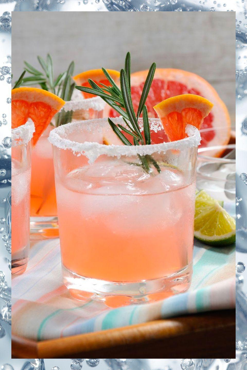 <p>In Mexico the paloma is just as popular as the classic margarita, and with a thirst-quenching combination of tequila, lime, and grapefruit soda it's bound to become a summer favorite of yours too. </p><p>- 2 oz tequila<br>- .5 oz lime juice<br>- Grapefruit soda to top</p><p><em>Add tequila and lime to a salt-rimmed glass filled with ice. Top with grapefruit soda. </em></p>