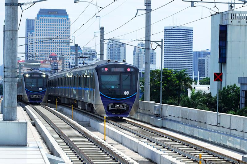 The Jakarta MRT start operations in March 2019 for Bundaran HI to Lebak bulus in a distance of 16 KM with 6 underground stations and 7 elevated stations