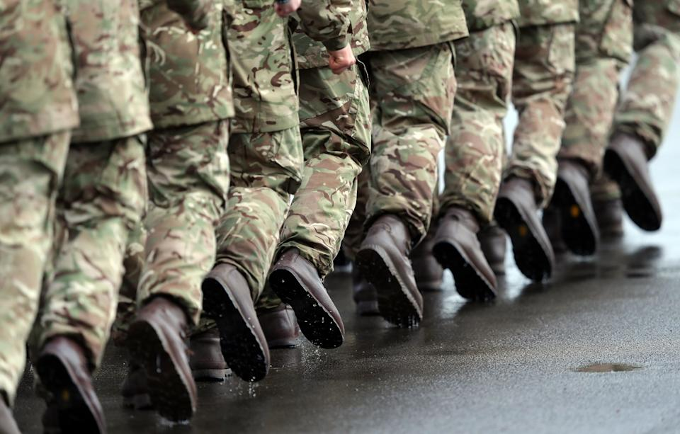The report looked at how female members of the armed forces are treated (PA) (PA Archive)