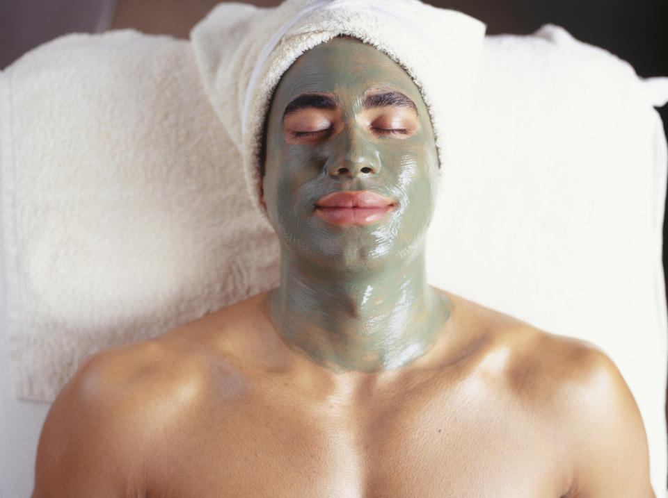 While more men are visiting spas others still feel a stigma. (Getty Images)