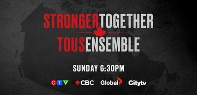 Clips of the STRONGER TOGETHER, TOUS ENSEMBLE Broadcast Event Available Post-Broadcast Event (CNW Group/Bell Media)