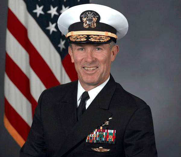 Vice Admiral Joseph Maguire in 2008. (Photo: U.S. Navy via Wikicommons)