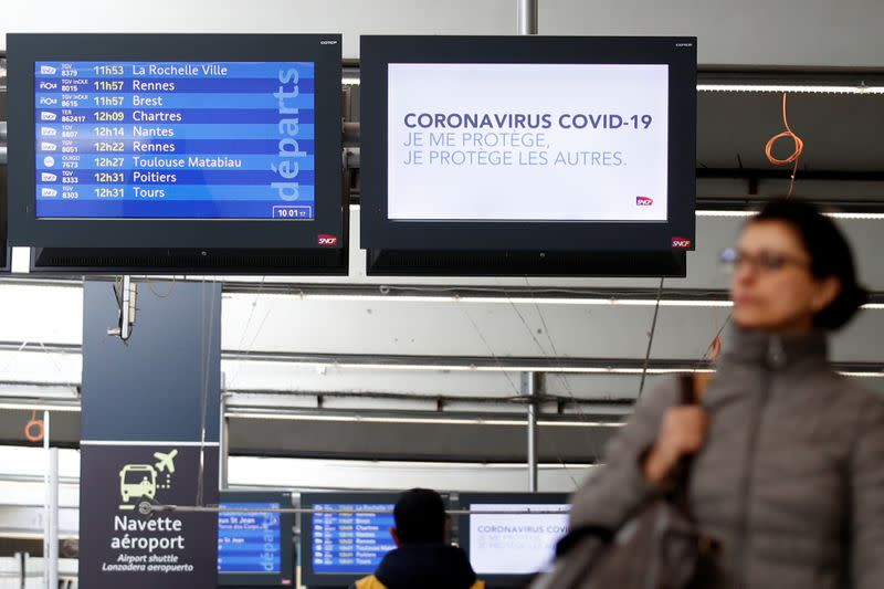 French coronavirus quarantine to spare travellers from Schengen area and UK
