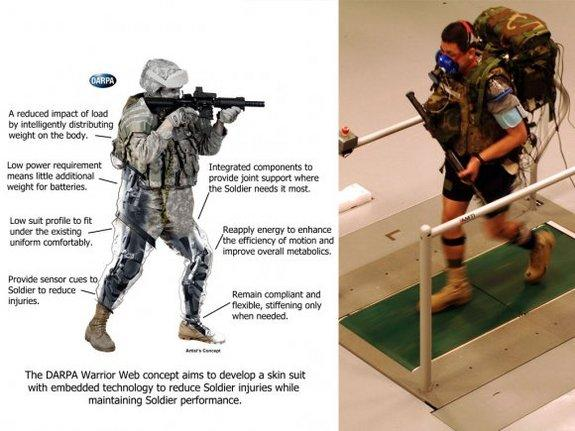 "The U.S. Army is developing a high-tech suit for soldiers à la ""Iron Man."""
