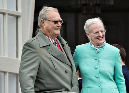 FILE PHOTO: Prince Henrik suffers from dementia