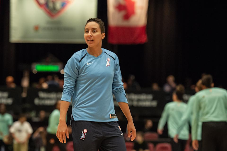 New York Liberty guard Layshia Clarendon will be on a panel for a Juneteenth celebration.