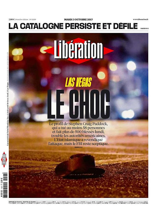 "<p>""Libération,"" published in Paris, France. (newseum.org) </p>"