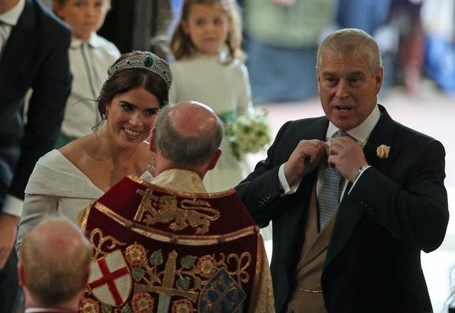 Eugenie and the Duke of York
