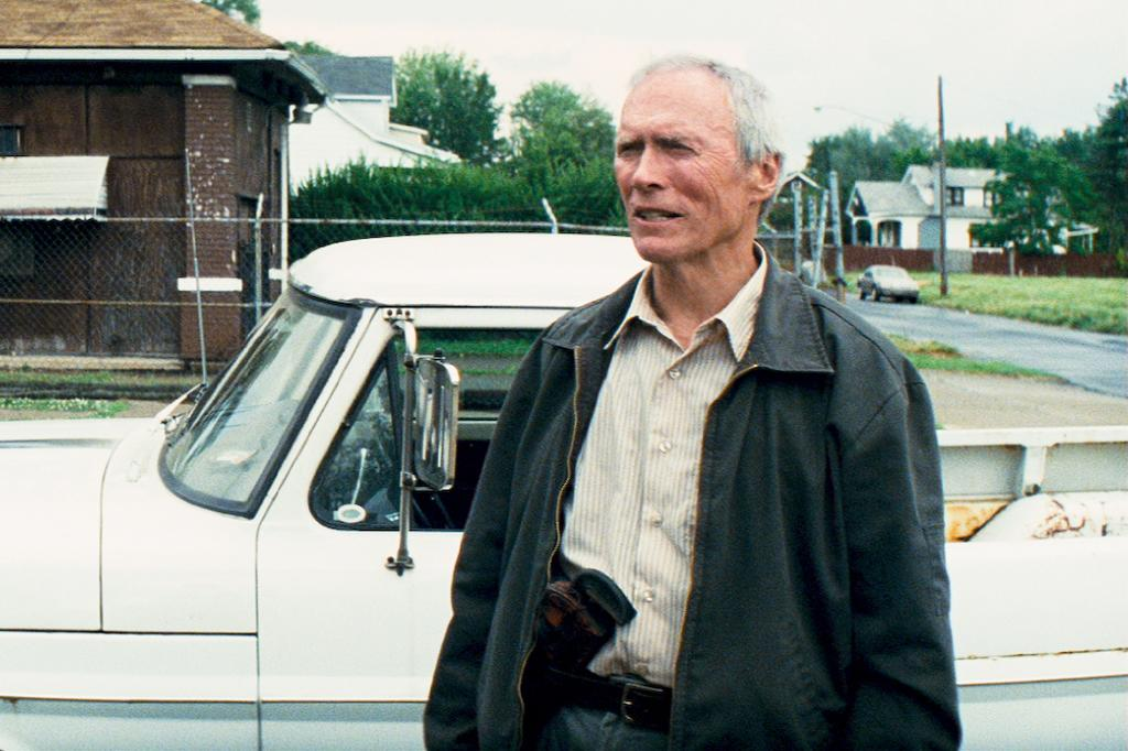 """<a href=""""http://movies.yahoo.com/movie/contributor/1800019744"""">Clint Eastwood</a> in Warner Bros. Pictures' <a href=""""http://movies.yahoo.com/movie/1810038822/info"""">Gran Torino</a> - 2008"""