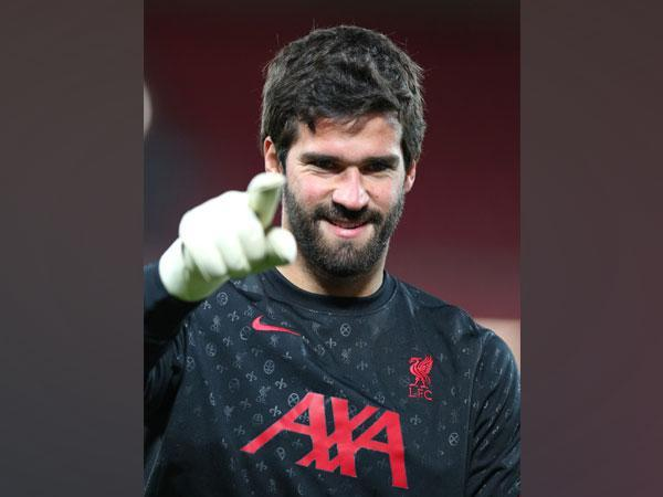 Liverpool's Alisson Becker. (Photo/ Liverpool Twitter)