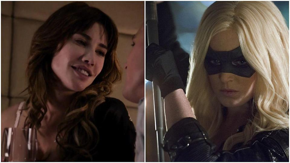 <p>Jacqueline MacInnes Wood played Black Canary during <em>Arrow</em>'s pilot episode but was rumored to be too busy to continue the job. The role eventually went to Caity Lotz, woman who can fully pull off an eye mask.</p>